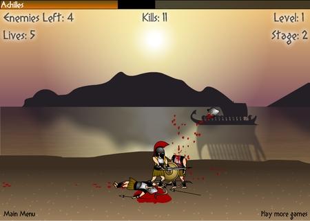achilles online game
