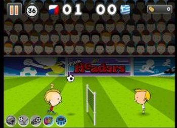 Flick Headers – Euro 2012