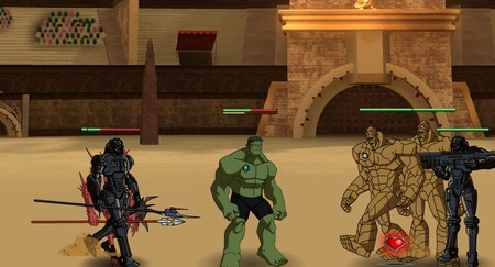Planet Hulk - Gladiators