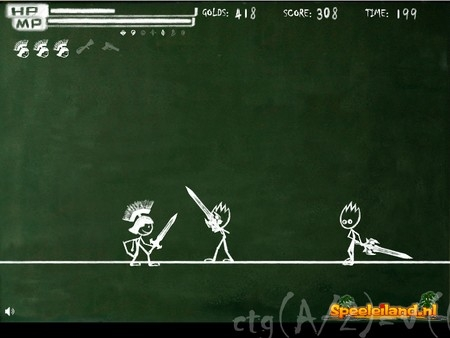 BlackBoard Fight