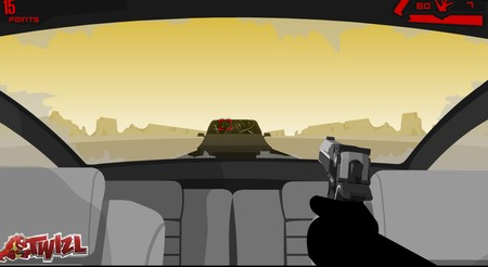 Desert Road - Vinnie's Rampage