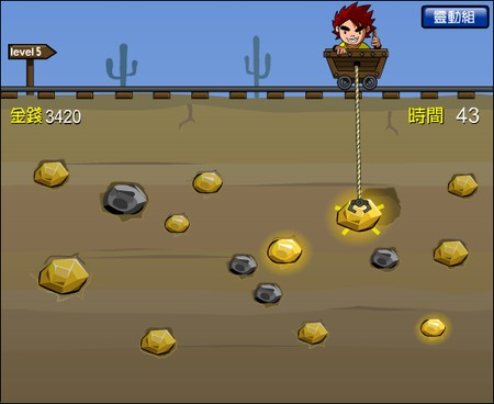 Flash Games - Gold Miner 3 - Butkaj.com