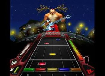 Santa Rockstar: Metal Xmas 5 – Rudolph Saves The World