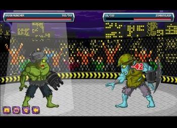 Zombies Fight Club